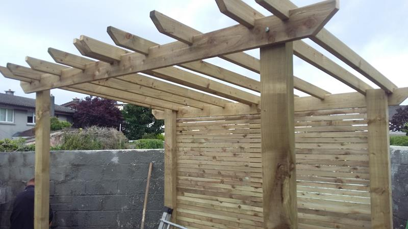 Design and Landscaping a Garden with a Pergola in Galway